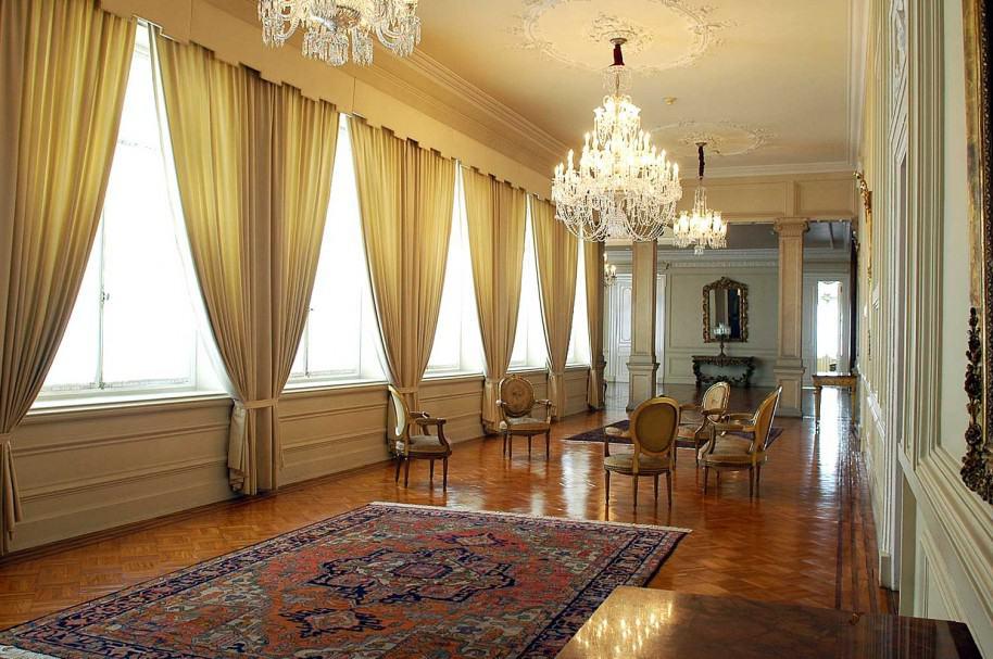 Casa de Nariño: 'hall' de entrada al Salón Bolívar