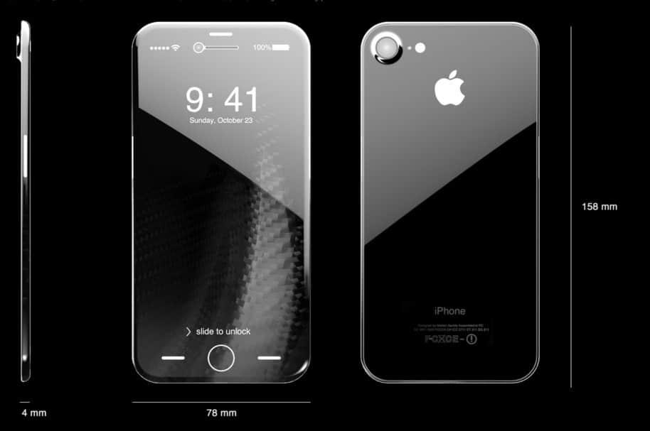 Prototipo iPhone 8