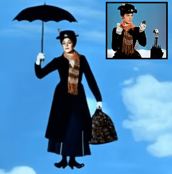 La Mary Poppins de antes.