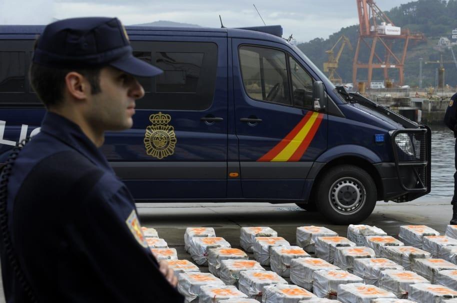 Decomiso de droga en España