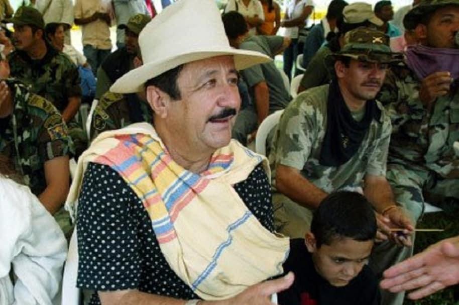 Hernán Giraldo, ex jefe de la AUC