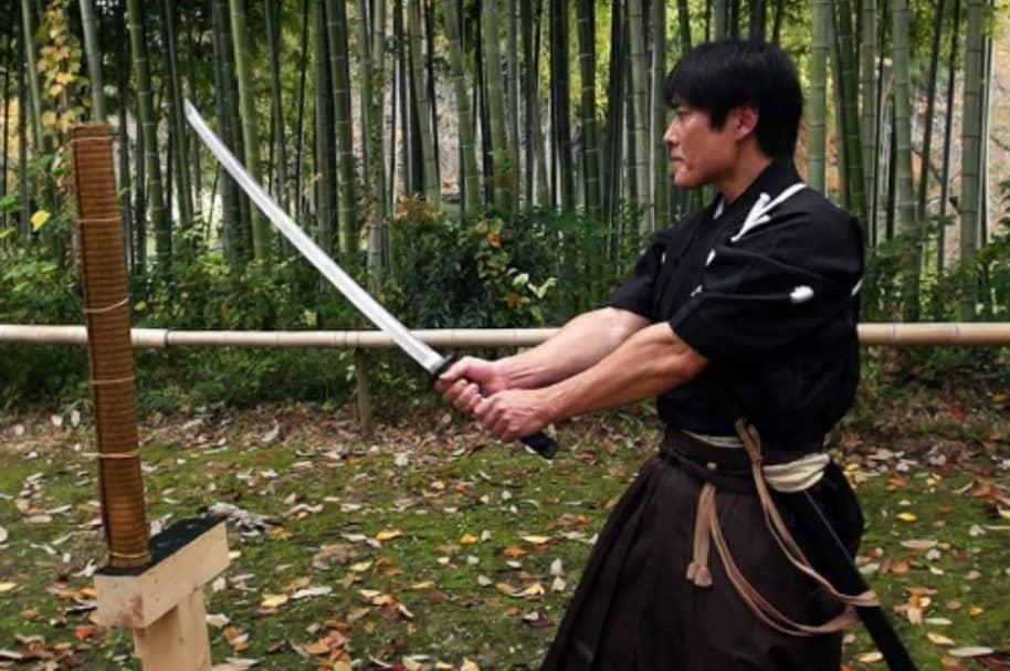 Isao Machii, samurai.