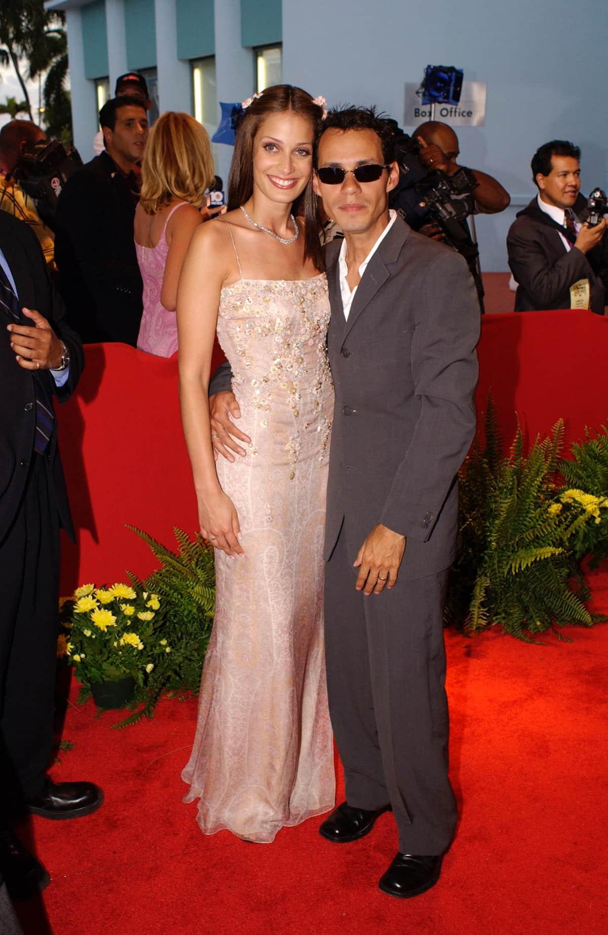 ExMiss Universo Dayanara Torres y el cantante Marc Anthony