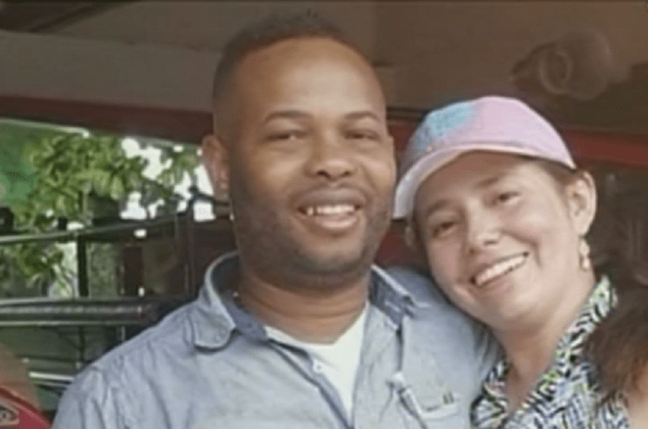 Flanklin Caicedo, dueño de la discoteca, con su esposa Marcela Trujillo, asesinados