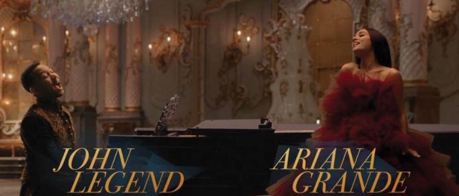John Legend y Ariana Grande