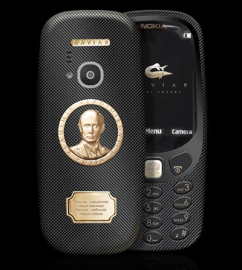 Nokia 3310 Putin Supremo