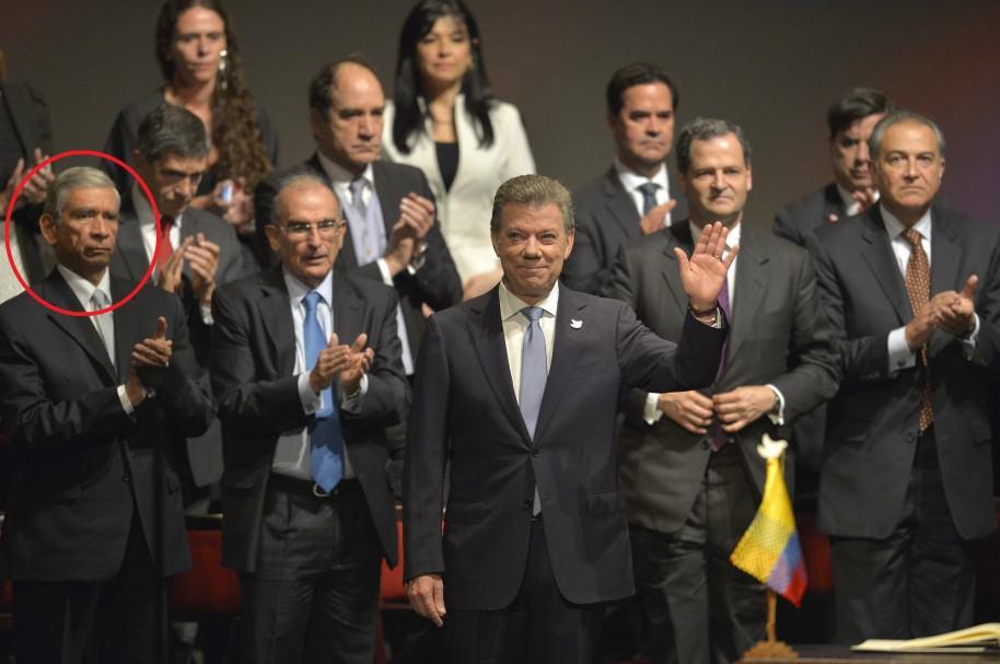 Firma del nuevo acuerdo de paz en el Teatro Colón
