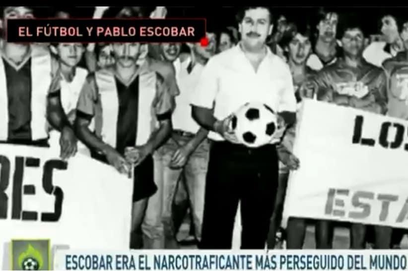 Pablo Escobar y el fútbol