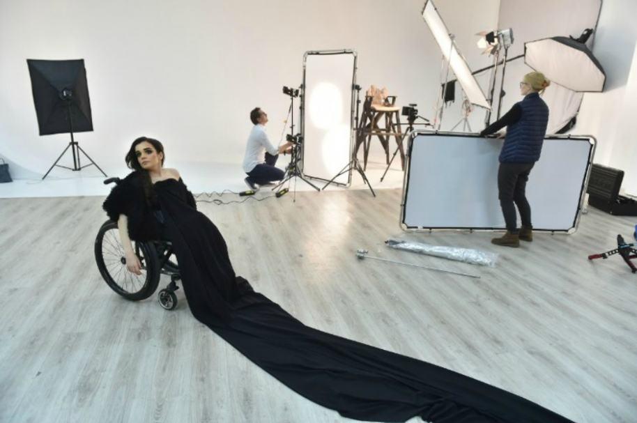 Alexandra Kutas, modelo ucraniana.