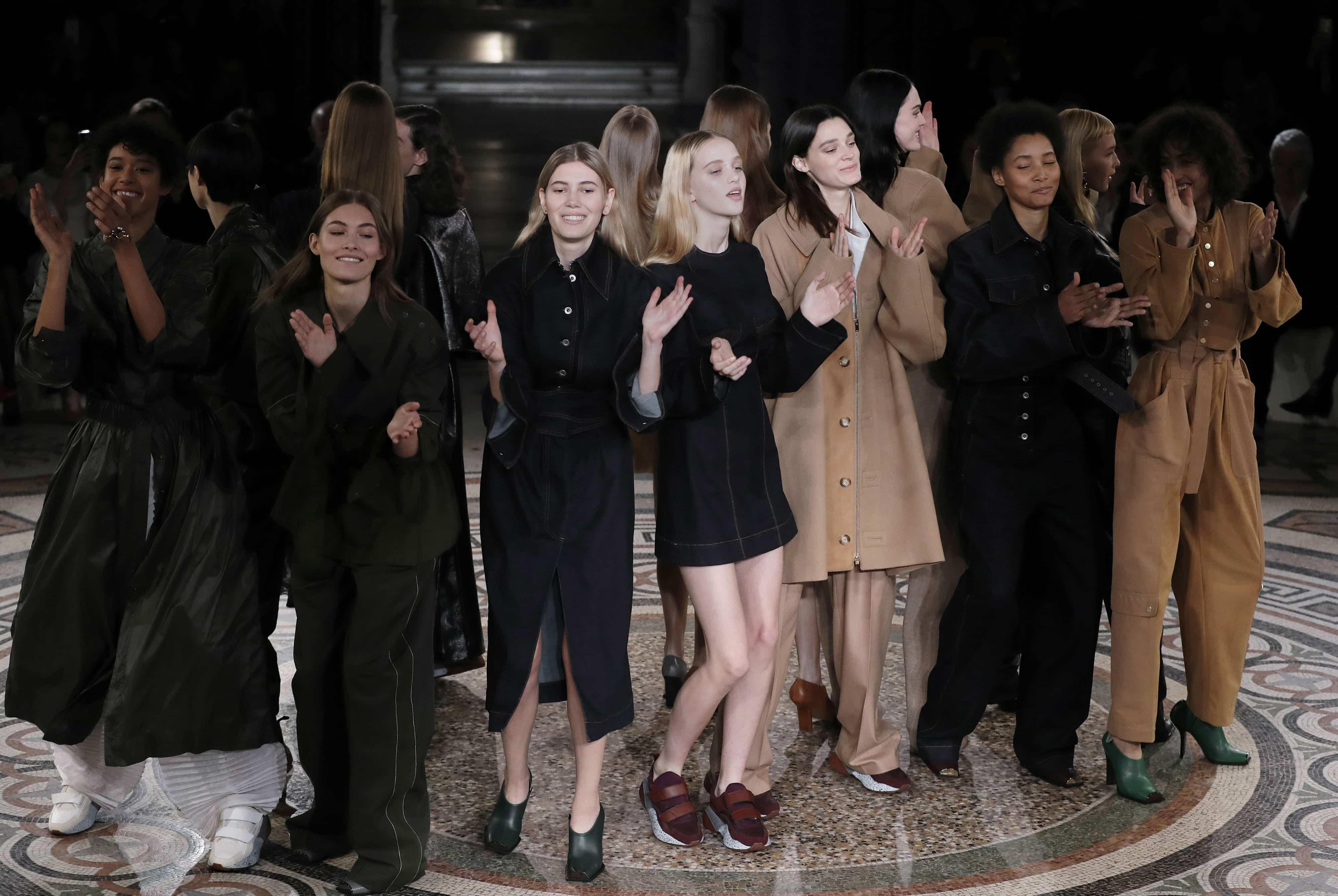 Colección de Stella McCartney en la Semana de la Moda de París
