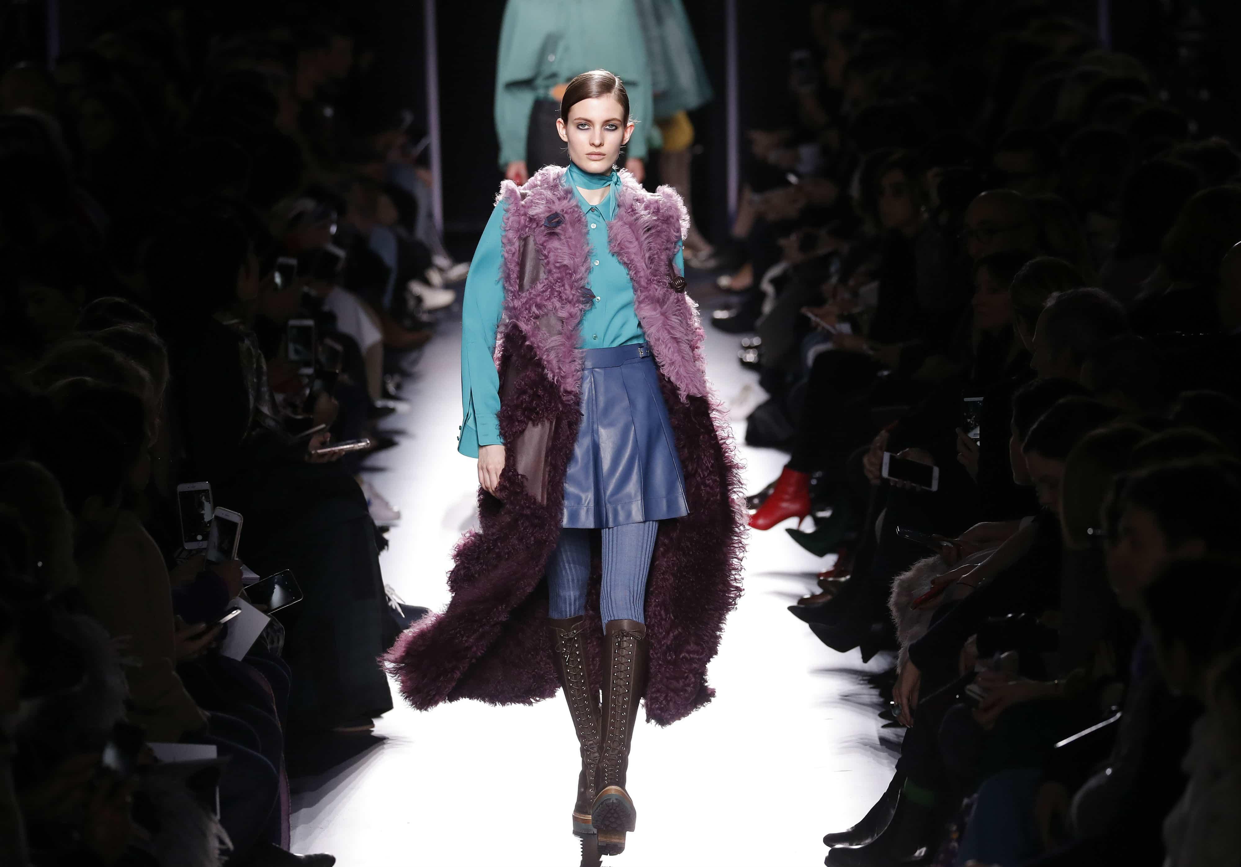 Colección de Hermès en la Semana de la Moda de París