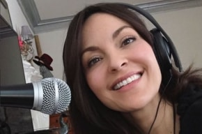 Carolina Gómez, exreina y nueva locutora de La W Radio.