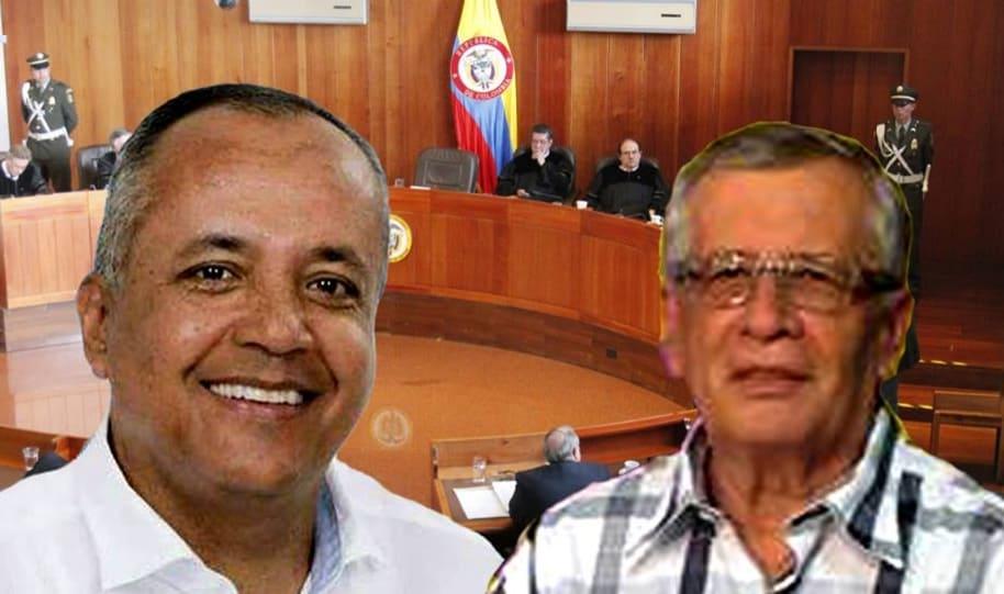 Óscar Barreto y Fernando Osorio