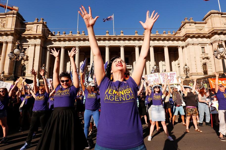 Australianas conmemoran el Día internacional de la mujer