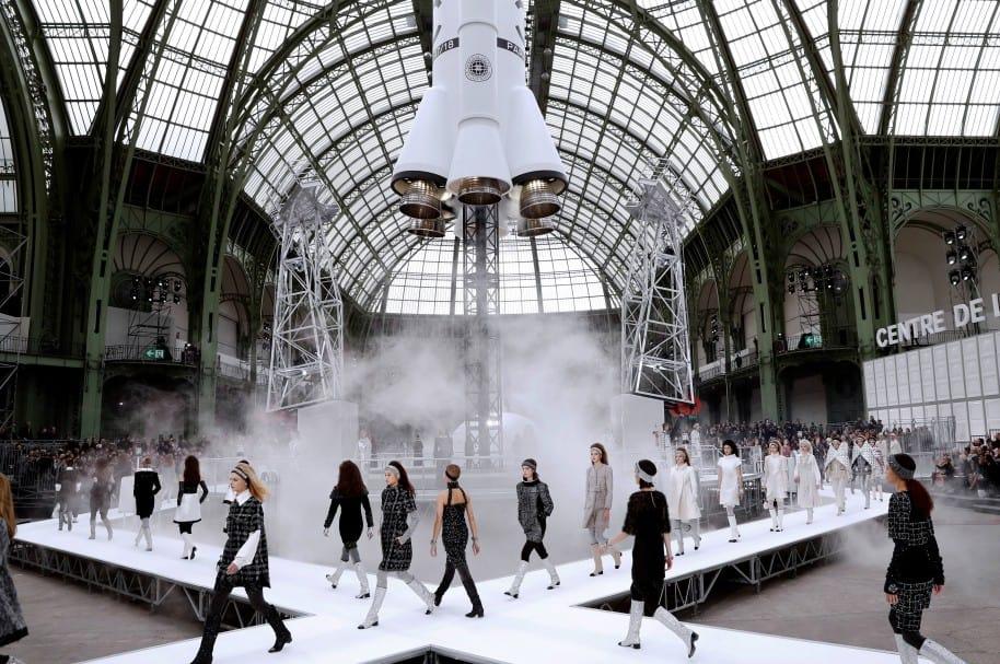 Desfile de Chanel en Semana de la Moda de París
