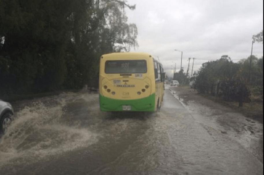 Inundaciones Autopista Norte