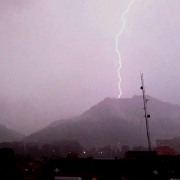Tormenta eléctrica en Bogotá