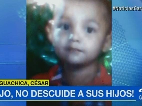 Luis Miguel, niño de 3 años que murió luego de que una nevera le cayera encima.. Pulzo.com
