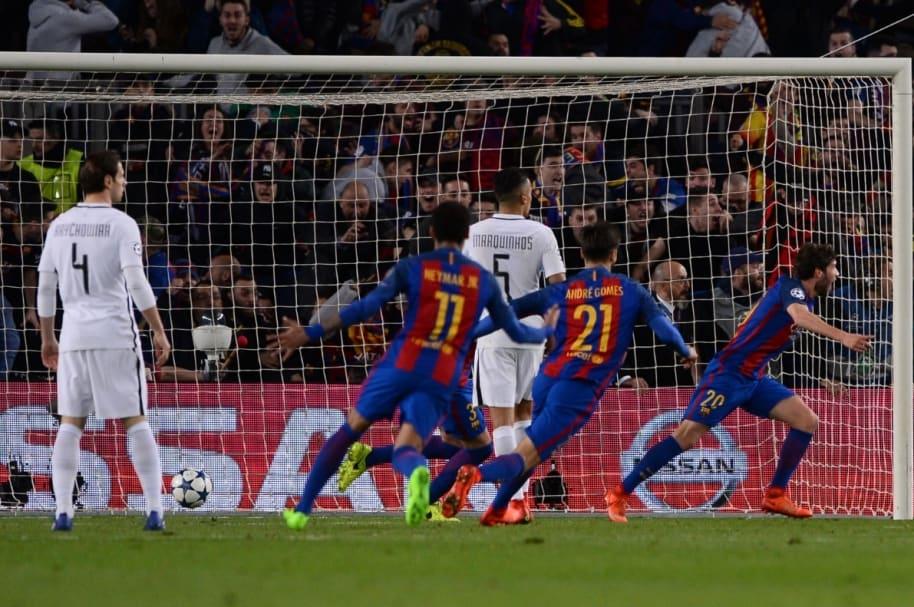 Gol final Barcelona PSG