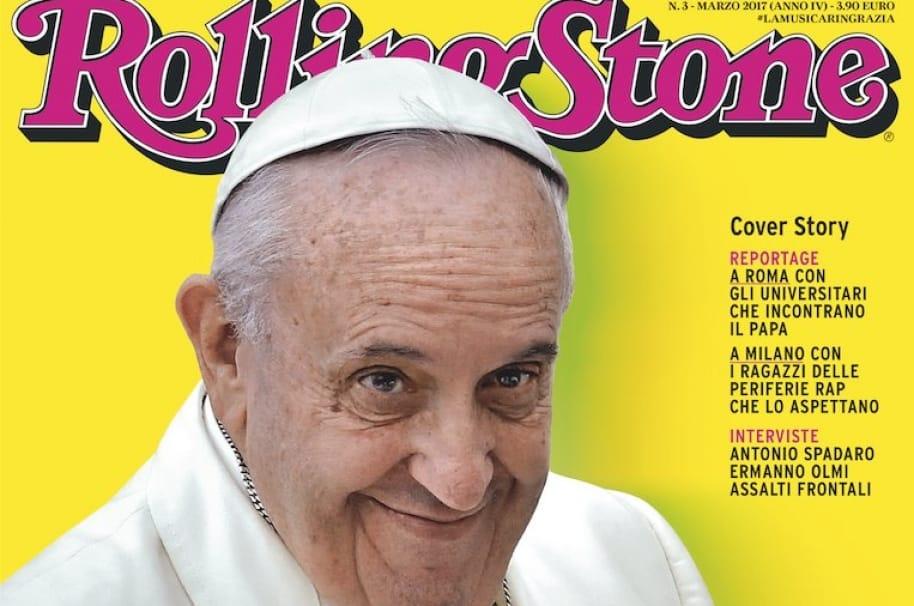 Papa Francisco en Rolling Stone