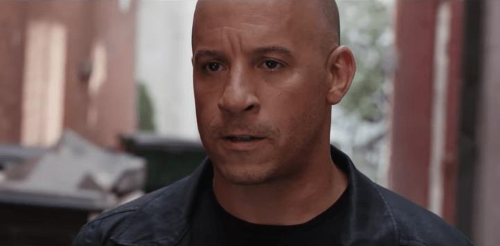 Vin Diesel como Dominic Toretto en 'Rápidos y Furiosos 8'. Pulzo.com