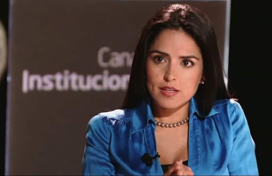 Claudia Palacios, directora de noticias de Canal Capital