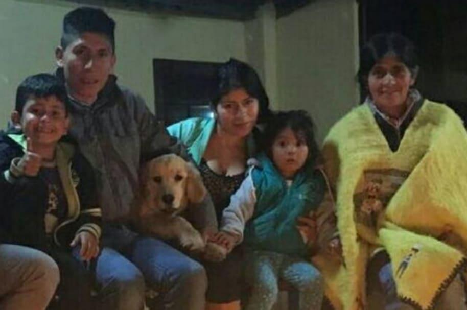 Perro familia Nairo