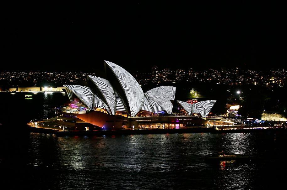 Teatro de la Ópera en Sidney, símbolo australiano.