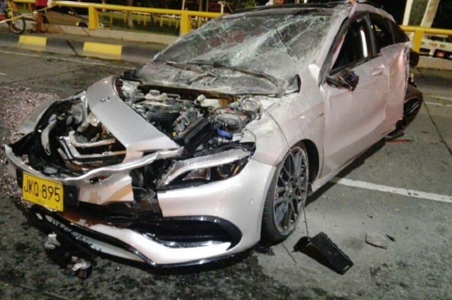 Accidente en Cali