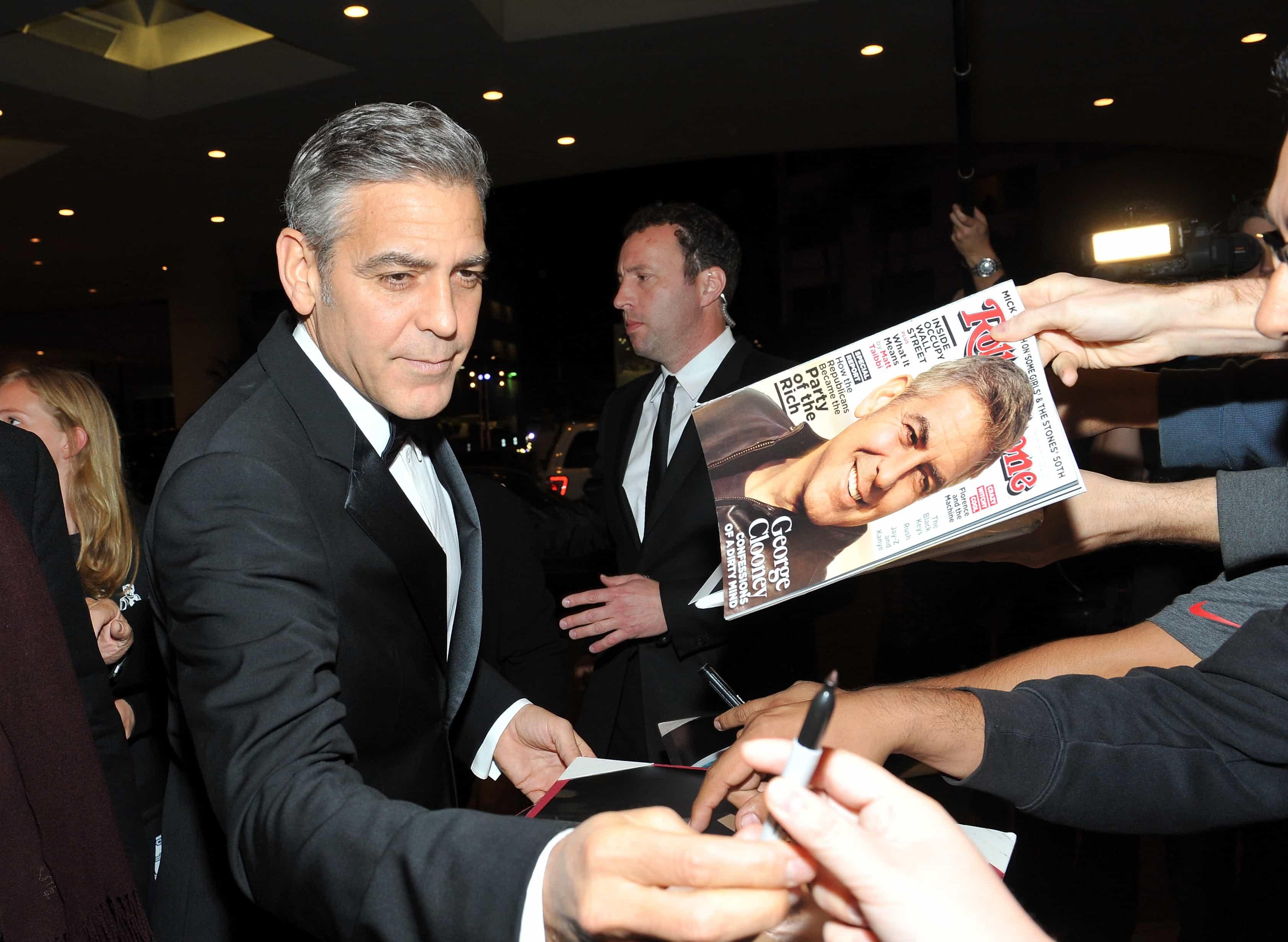 TGeorge Clooney