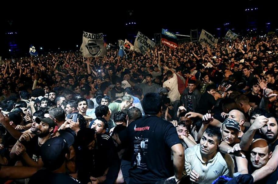Tragedia en concierto en Argentina