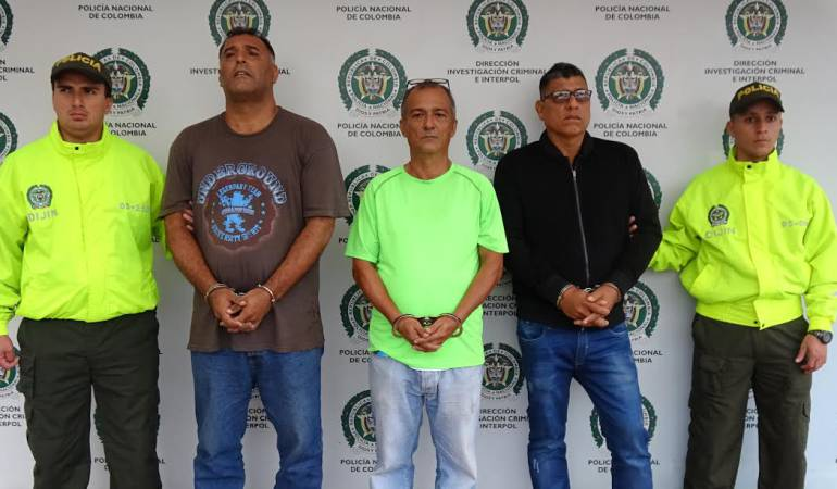 Detención de John Jiménez Guzmán