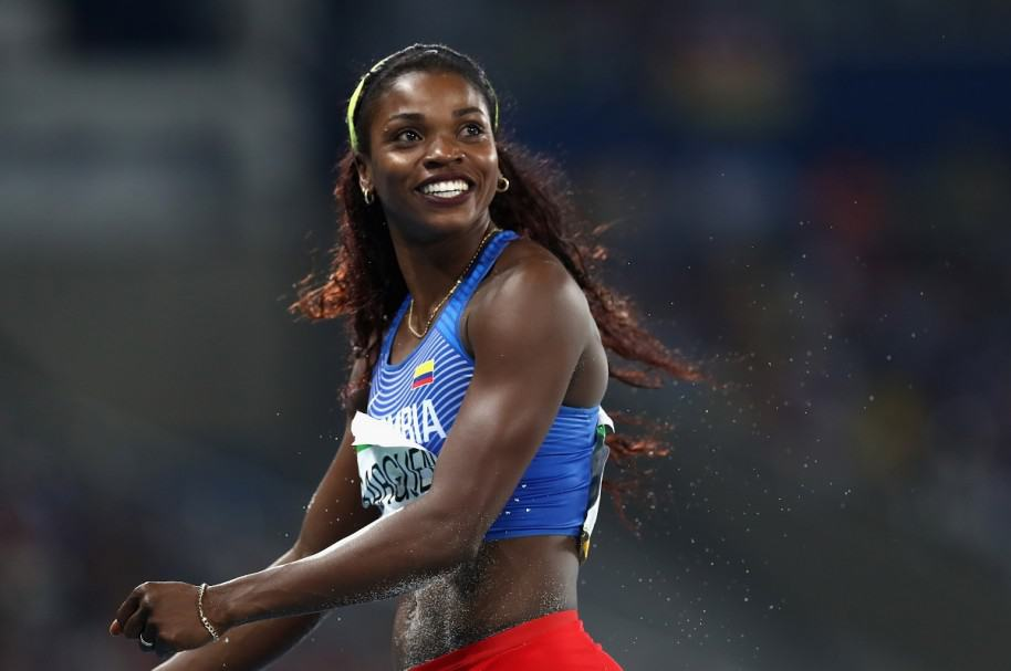 Caterine Ibargüen, medallista olímpica.