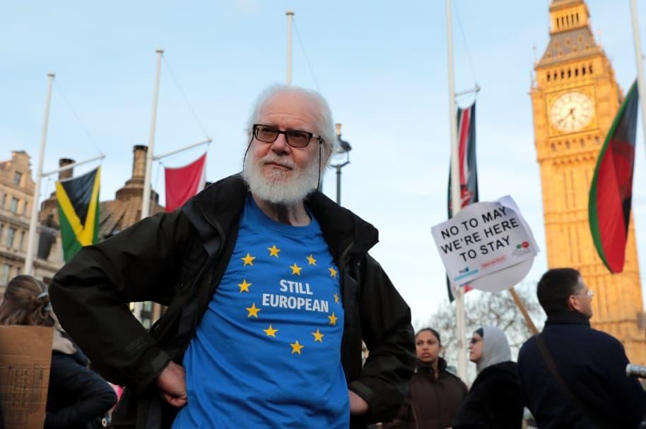 Protestas contra el 'Brexit'