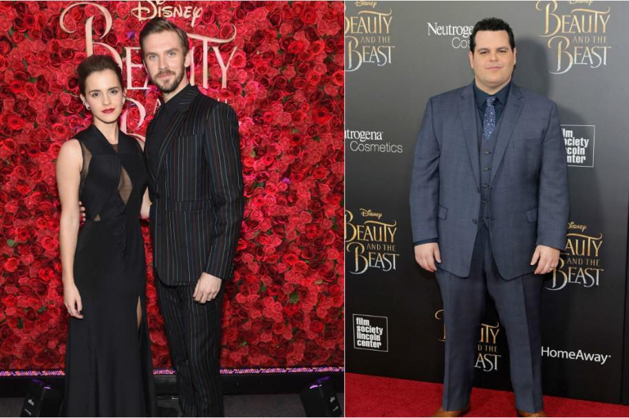 Emma Watson  y Dan Stevens / Josh Gad