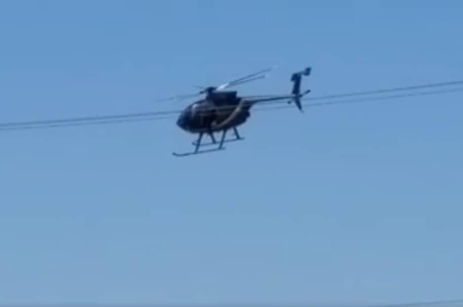 Helicóptero se desploma en Mexicali.