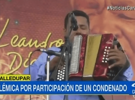 Juan David Herrera Pimentel, acordeonero condenado. Pulzo.com