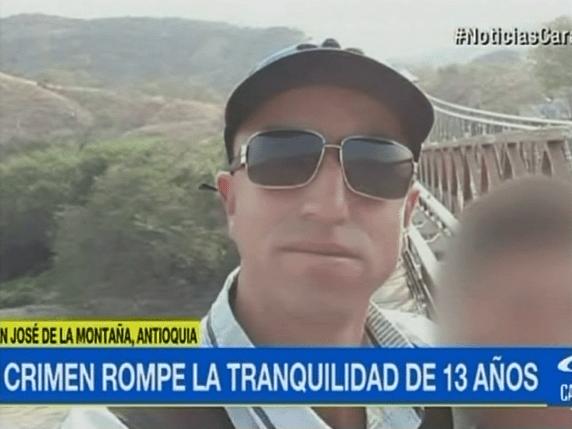 Eider Henao Betancur, campesino de 32 años que fue asesinado en San José de la Montaña, Antioquia. Pulzo.com