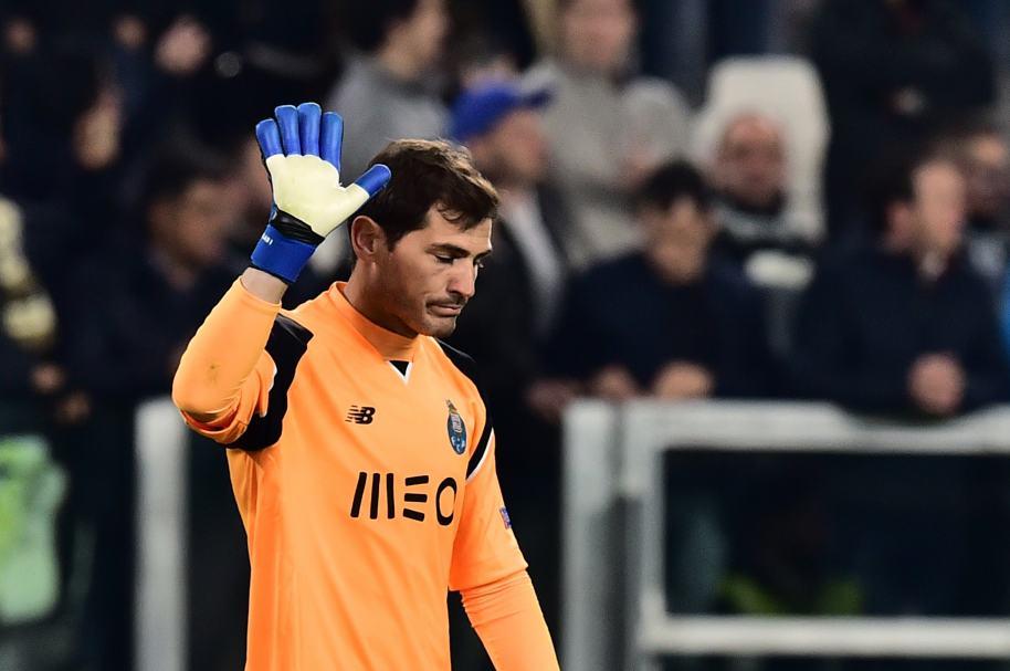 Iker Casillas se despidió de la Liga de Campeones 2017