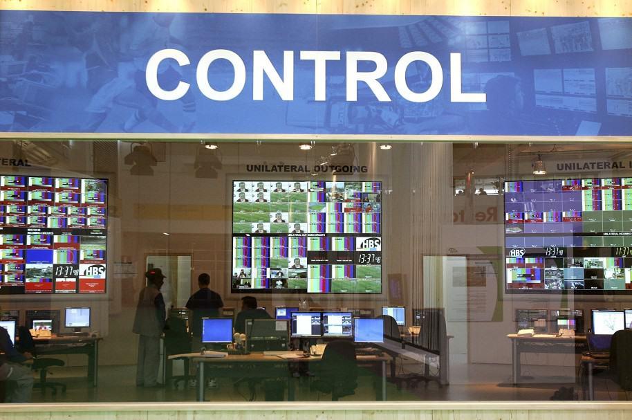 Centro de control de televisión internacional
