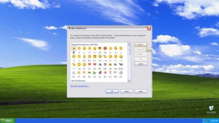 Emojis en Messenger