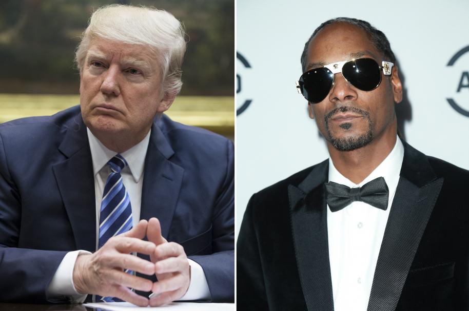 Donlad Trump y Snoop Dogg