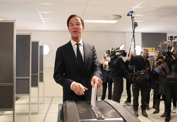 Primer ministro, Mark Rutte