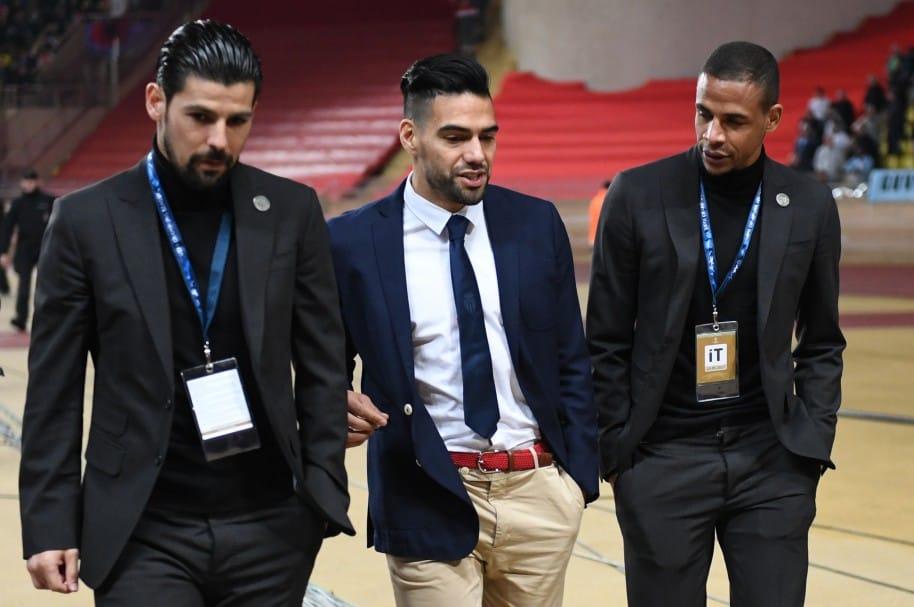 Falcao asistió 'de civil' al partido de su equipo contra Manchester City