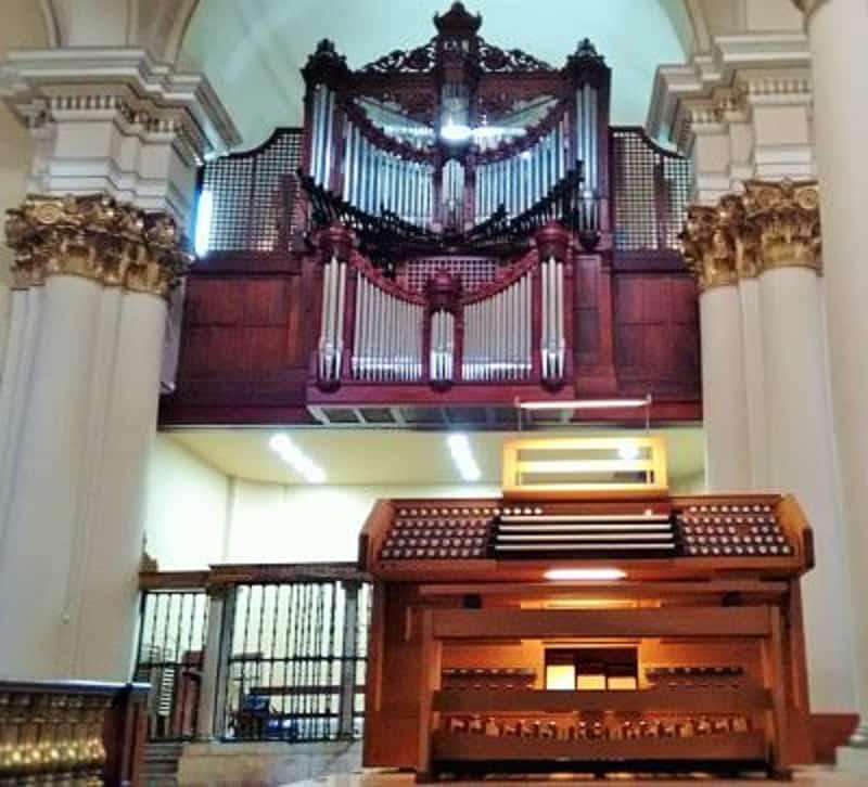 órgano de la Catedral Primada