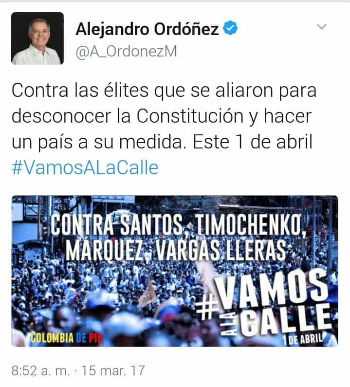 Tuit de Ordóñez