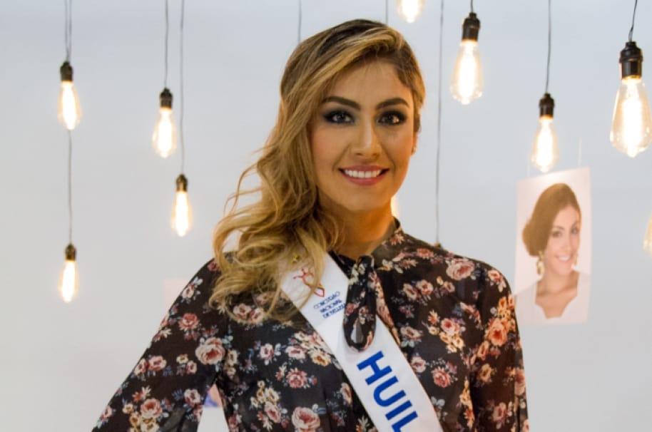 Natalia Perdomo, Señorita Huila.