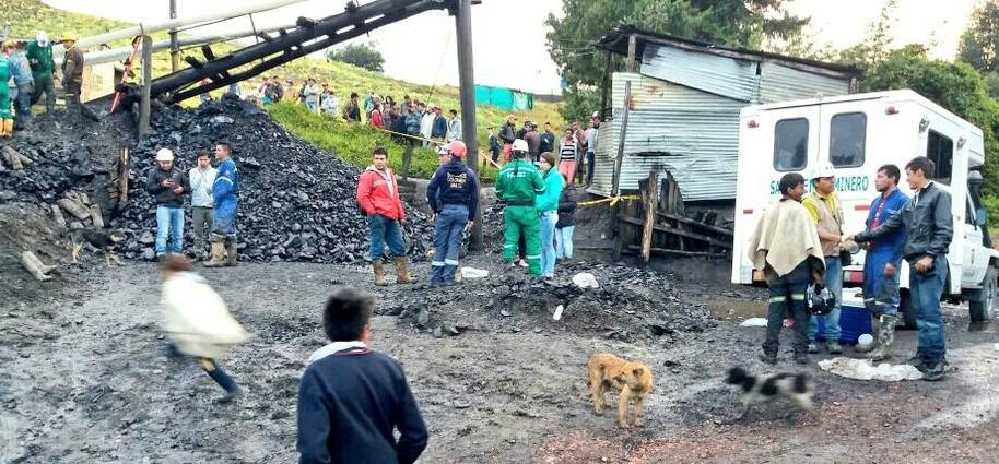 Bomberos de Ubaté rescataron a 4 heridos de la mina El Triángulo