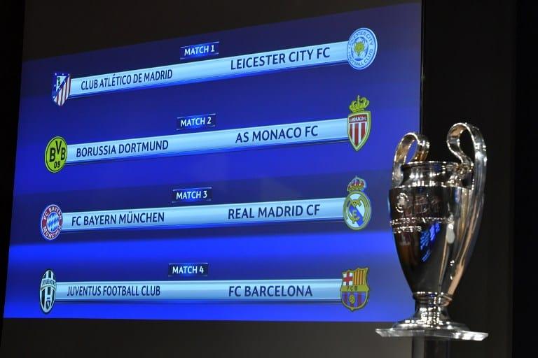 Sorteo de Liga de Campeones