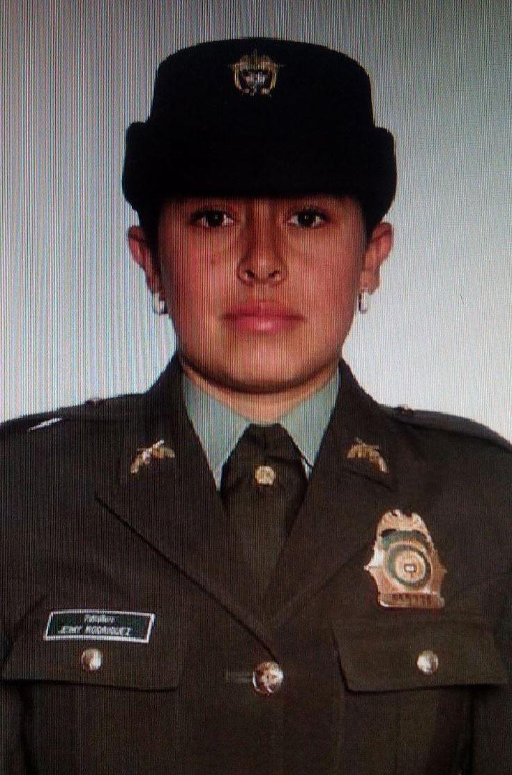 Patrullera Jeimy Carolina Rodríguez Quiroga